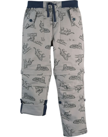 Frugi Pantalon TYLER RIPSTOP COMBATS mid grey tigers TRS108MGR