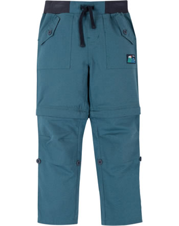 Frugi Pantalon TYLER Ripstop Combats steely blue TRS001STQ