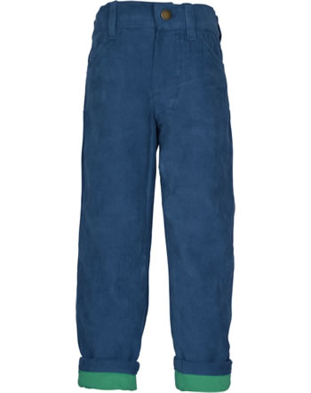 Frugi Pantalon CALLUM SLIM CORDS space blue TRA952SPV