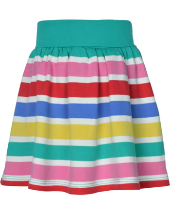 Frugi Jupe LUNA SKORT rainbow multi stripe SKS105RMP