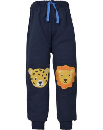 Frugi Pantalon KNEEPATCH CRAWLERS indigo  big cats PUS101IBC