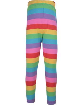 Frugi Leggings LIBBY foxyglove rainbow stripe LEA005FRB