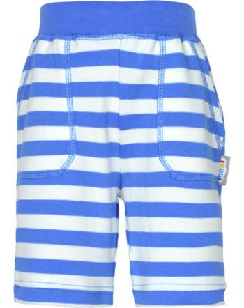 Frugi Sweat-Shorts FAVOURITE cobalt blue stripe SHS104CBP