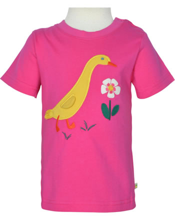 Frugi T-Shirt Kurzarm AVERY rich pink duck TTS104RPU