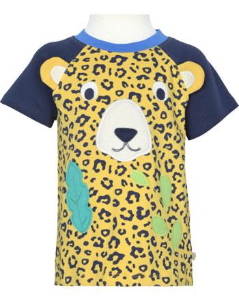 Frugi T-Shirt manches courtes HAPPY leopard spot TTS126LES