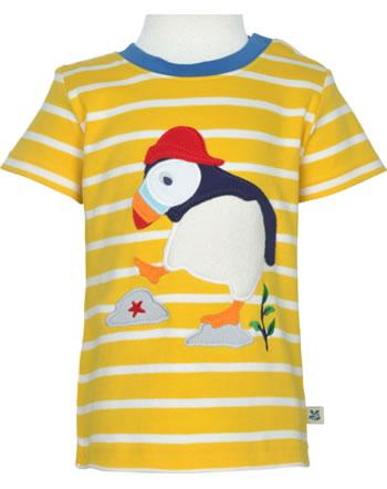 Frugi T-Shirt manches courtes NATIONAL TRUST puffin TTS170PFN