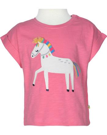 Frugi T-Shirt Kurzarm SOPHIA mid pink horse TTS150MHR