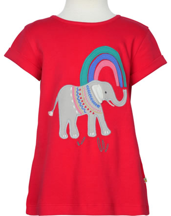 Frugi T-Shirt manches courtes SOPHIE true red elephant TTS151REP