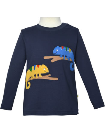 Frugi Shirt manches longues ADVENTURE TOP indigo chameleon TTS101ICH