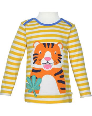 Frugi T-Shirt Langarm BOBBY bumble bee stripe tiger TTS106BTS