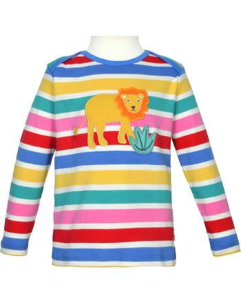 Frugi Shirt manches longues BOBBY rainbow multistripe lion TTS106RUL