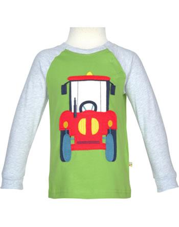 Frugi Shirt manches longues JAKE TRACTOR kiwi TTS026KWT