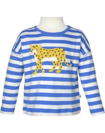 Frugi Shirt manches longues TORI TOP cobalt stripe leopard TTS156CSD