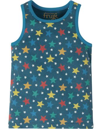 Frugi Tricot de corps VOYAGER VEST steely blue multi star ACS012SMI