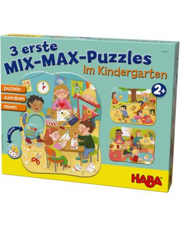 HABA 3 erste Mix-Max-Puzzles - Im Kindergarten 304431