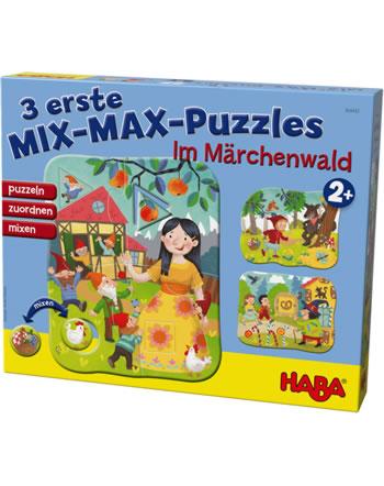 HABA 3 erste Mix-Max-Puzzles - Im Märchenwald 304432