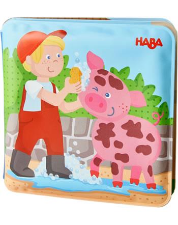HABA Badebuch Waschtag bei Schwein und Kuh 304707