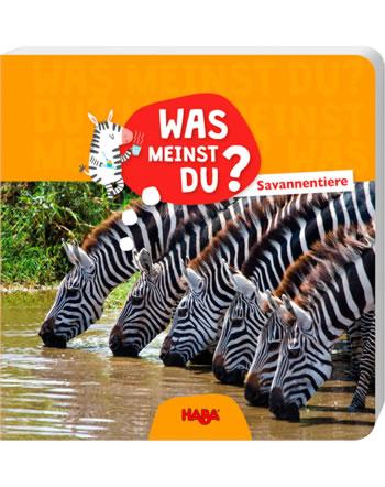 HABA Buch Was meinst du? - Savannentiere 304013