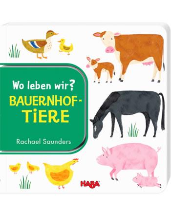 HABA Buch Wo leben wir? - Bauernhoftiere 304010