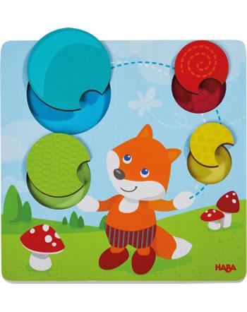 HABA Puzzle tactile Renard 305346