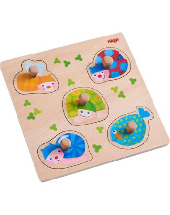 HABA Puzzle Animaux multicolores 304589