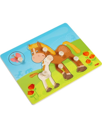 HABA Puzzle A boutons Chevaux 303771