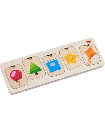 HABA Holzpuzzle Farben & Formen 304586