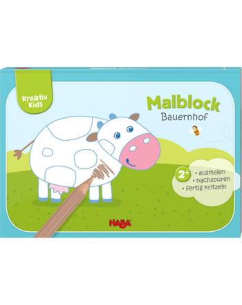 HABA Kreativ Kids - Malblock Bauernhof 304436