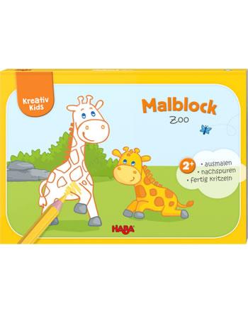 HABA Kreativ Kids - Malblock Zoo 304441