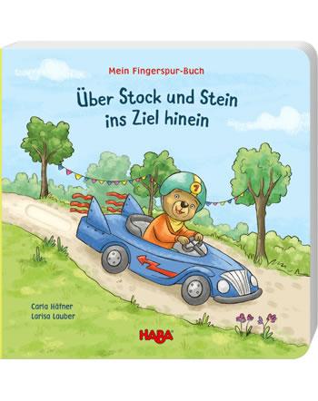 HABA Mein Fingerspur-Buch - Über Stock und Stein ins Ziel hinein 305057
