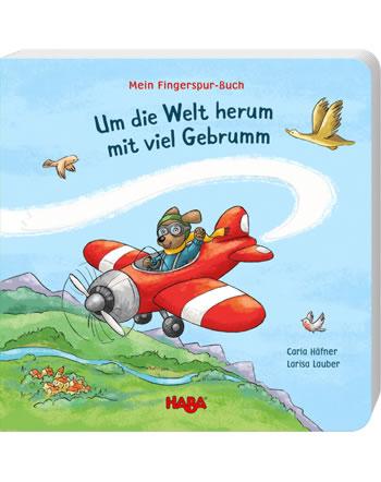 HABA Mein Fingerspur-Buch - Um die Welt herum mit viel Gebrumm 305058