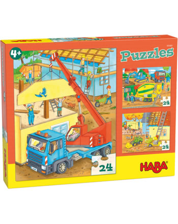 HABA Puzzles At the construction Site 305469