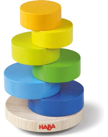HABA Stacking game Wobbly Tower 305403