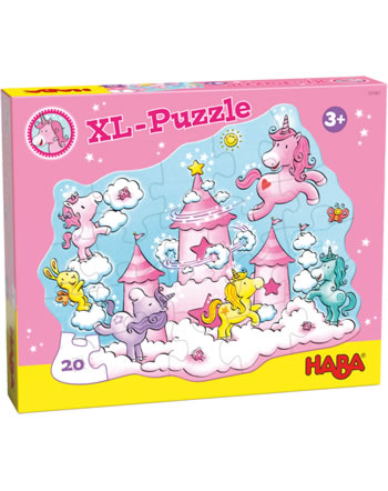 HABA XL-Puzzle Licornes dans les nuages - Féerie scintillante 305467