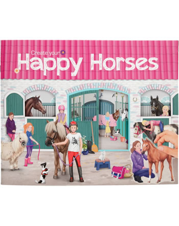 Horses Dreams colouring book Create your Happy Horses