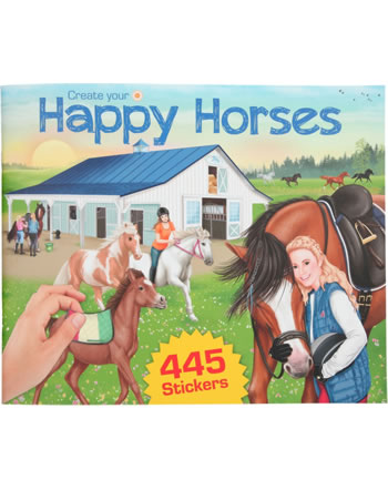 Horses Dreams colouring book Create your Happy Horses with sticker 11584