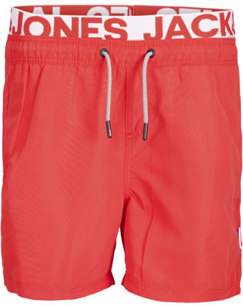 Jack & Jones Junior Short de bain JJIARUBA fiery red 12169528