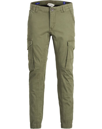 Jack & Jones Junior Cargo Pantalon SLIM NOOS olive night 12151639