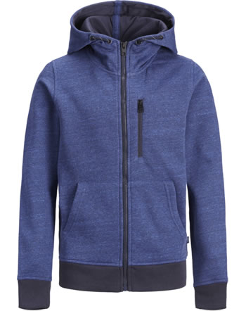 Jack & Jones Junior Hoodie Vest JCOBEST navy peony 12168359