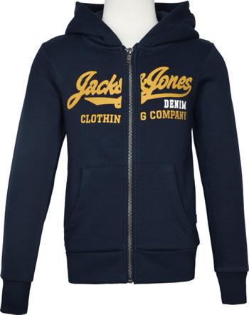 Jack & Jones Junior Sweat Zip Hood Veste JJELOGO navy blazer hawaiian 12173884