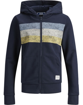 Jack & Jones Junior Sweat Zip Hood Veste JORLANGLEY navy blazer 12167780