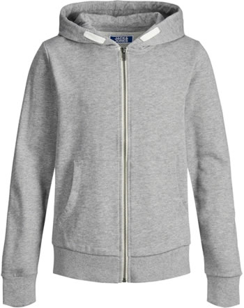 Jack & Jones Junior Hoodie Vest NOOS light grey melange 12148625
