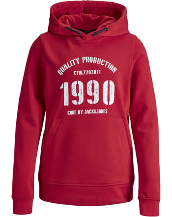 Jack & Jones Junior Hoodie JCOJAY chinese red 12167671