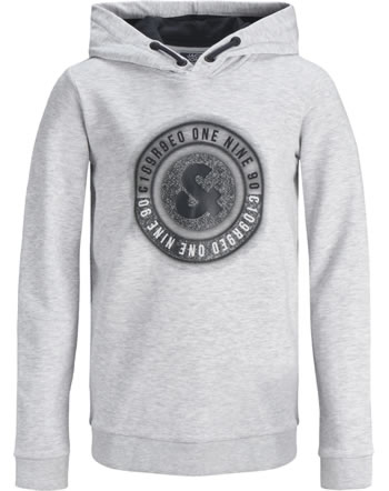 Jack & Jones Junior Hoodie JCOUNIVERSES white melange 12171758