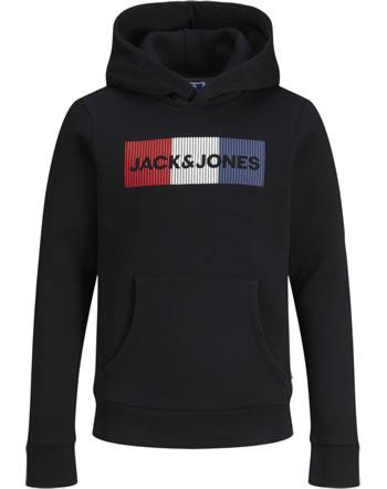 Jack & Jones Junior Hoodie Kapuzenpullover JJECORP black play 12152841