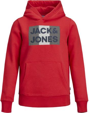Jack & Jones Junior Hoodie Kapuzenpullover JJECORP true red play 12152841