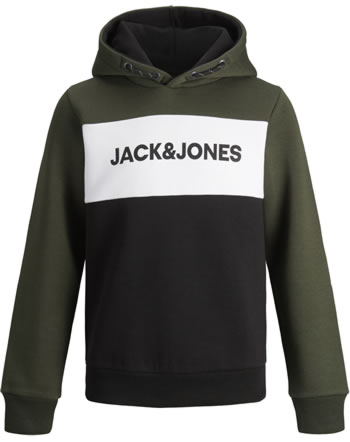 Jack & Jones Junior Sweat Hood JJELOGO forest night 12173901