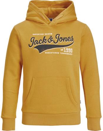 Jack & Jones Junior Hoodie Kapuzenpullover JJELOGO NOOS golden orange 12190422