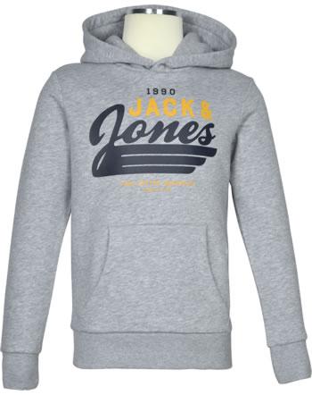 Jack & Jones Junior Hoodie Kapuzenpullover JJELOGO light grey melange 12173883