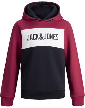 Jack & Jones Junior Sweat Hood JJELOGO tango red 12173901